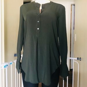 Loft women's long shirt size s